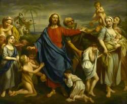 Little Children Brought to Christ