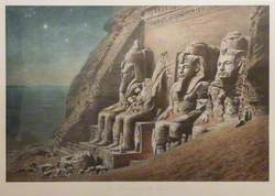 The Rock Temple of Abu Simbel (Der Felsentempel von Abu Simbel)