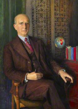 Professor Sir Fred Clarke (1880–1952),  Director (1936–1945)