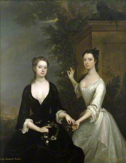 Lady Elizabeth and Lady Henrietta Finch