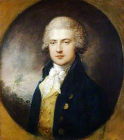 Portrait of an Unknown Associate of the Prince of Wales