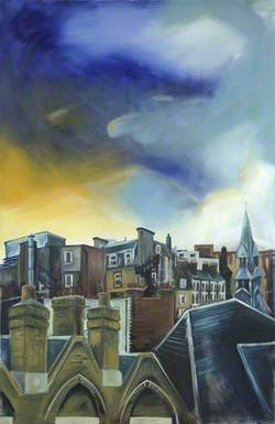 Rooftops of Queen Square