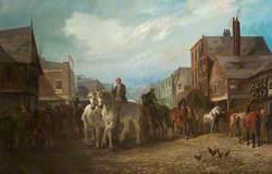 Chester Horse Fair, Foregate Street