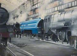 Crewe Works' Erecting Shop, 1938