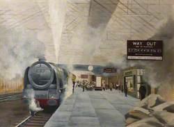 Crewe Station Number 2 Platform, 1960
