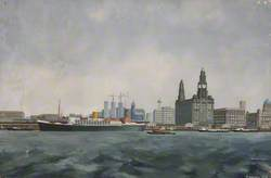 Liverpool from the River Mersey