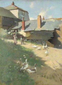 The Farmhouse: Summer Day