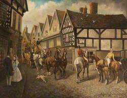The Old Square, Nantwich, Cheshire, 1836