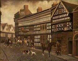 The Old Crown Inn, Nantwich, Cheshire, c.1828