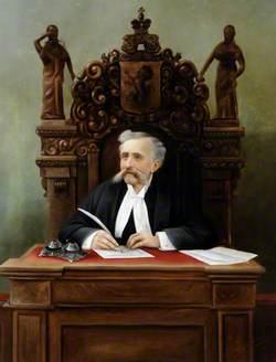 Nicholas Perter Le Cocq Babenson (1838–1924), Judge of Alderney (1897–1912)