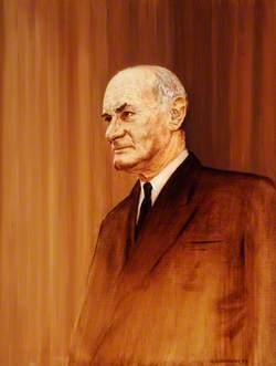 Captain P. S. Herival, President of Alderney (1949–1969)