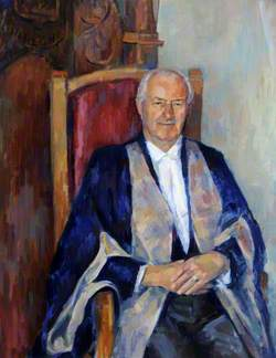 George William Baron, OBE, Jurat, President of Alderney (1970–1975 & 1994–1996)