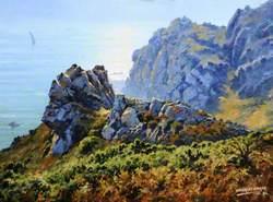 Cliffs near Le Gouffre