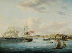 Naval Shipping off Castle Cornet