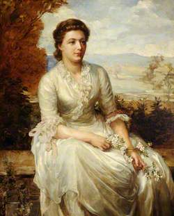 Lady Jane de Saumarez, née Jane Anne Broke (d.1933), Wife of James, 4th Baron de Saumarez