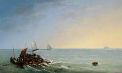 Day after the Shipwreck of the 'Silver Key' in the West Indies