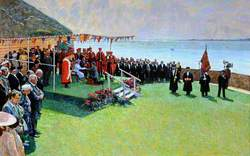 Act of Homage, Gorey Castle, Jersey, 25 May 1989