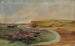 Wreck of the 'Ibex', Portelet Bay, Jersey