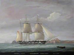 The 'Encore' of Jersey, off Elizabeth Castle