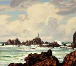 View of La Corbiere, Jersey