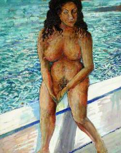 Nude, a Bahamian Type, Done at Aran Cay