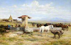 A Well in the Roman Campagna