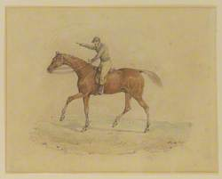Horse and Jockey (George Osbaldeston and Clasher)