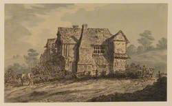 Group of Old Houses in a Landscape