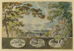 Decorative Landscape – Study for a Room at Norbury Park
