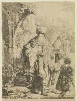 Abraham Casting Out Hagar