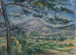 The Montagne Sainte-Victoire with Large Pine
