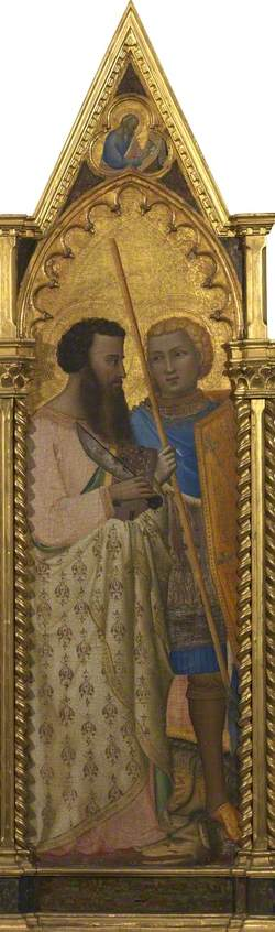 Saints Bartholomew and George