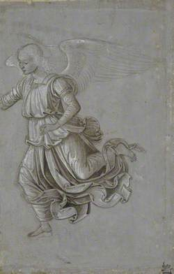Study of a Flying Angel