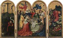 The Seilern Triptych – The Entombment