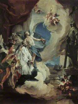 Saint Aloysius Gonzaga in Glory