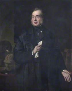 Sir George Burrows (1801–1887), Lecturer and Physician at St Bartholomew's Hospital
