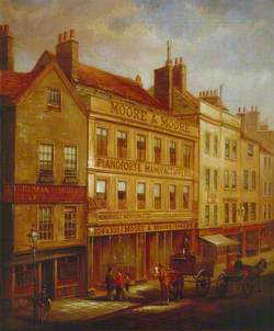 Bishopsgate, London, in 1871
