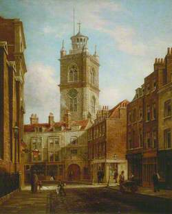Fore Street and St Giles without Cripplegate, London