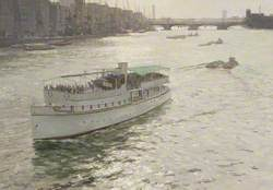 The SS 'Katharine' leaving the Pool of London