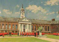 Oak Apple Day, Royal Hospital, Chelsea, London