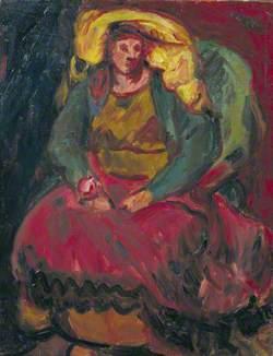 Vera Cuningham (1897–1955), in a Chair