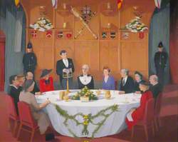 The Luncheon in the Guildhall, London, in Honour of Their Royal Highnesses The Duke and Duchess of York, November 1986