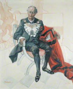 Sir Hugh Wontner (1908–1992), Lord Mayor of London (1973)