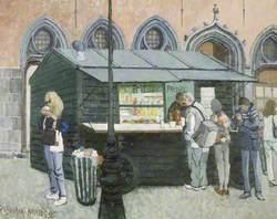 Coffee Stall, Bruges, Belgium