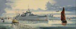 HMS 'London', Coming Home, 6 November 1945