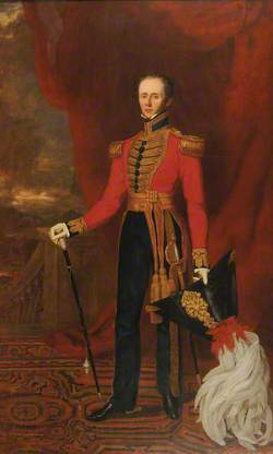 Colonel Samuel Wilson (1792–1881), in the Costume of the King's Harbinger as He Appeared at the Coronation of William IV, 1831