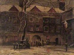 The Quadrangle of 'Staple Inn', London