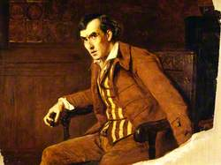 Sir Henry Irving (1838–1905), as Mathias in 'The Bells'