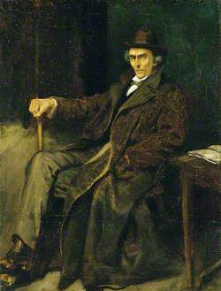 Sir Henry Irving (1838–1905), at Rehearsal