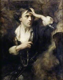 Sir John Martin-Harvey (1863–1944), as 'Hamlet'